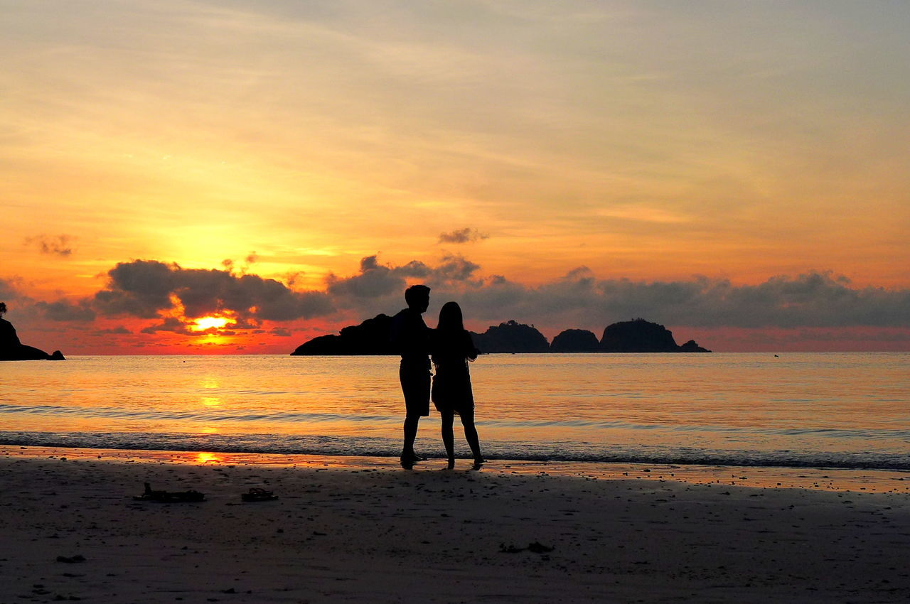 Beach Beach Day Beachphotography Blue Blue Water Clear Water Crystal Clear Waters Malaysia Redangisland Sea Sea And Sky Seascape Sunrise Sunrise Silhouette Sunrise_Collection Sunrise_sunsets_aroundworld Terengganu Loving Life  EyeEm Nature Lover EyeEm Gallery EyeEmBestPics Couples❤❤❤ Young At Heart Slow Travel