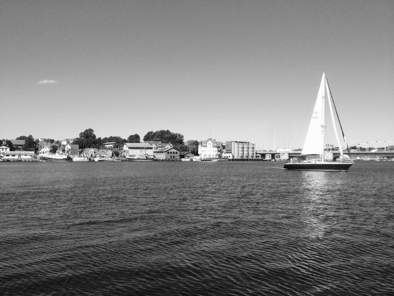 Sailboat Boats Boat Sea Denmark