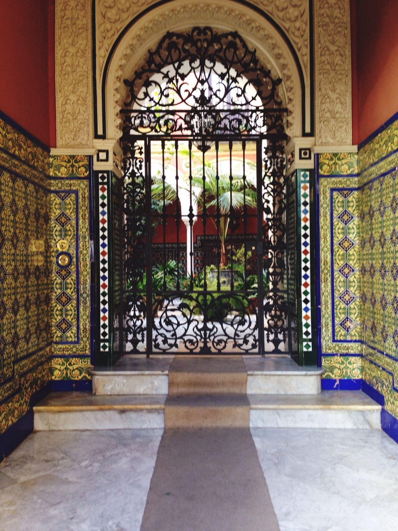 Architecture Mudéjar España Holiday Traveling Colors Mosaic HiddenGarden