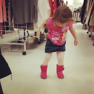 After a meltdown over a dress I picked out she's satisfied with this outfit Toddlerlife Childrenofinstagram