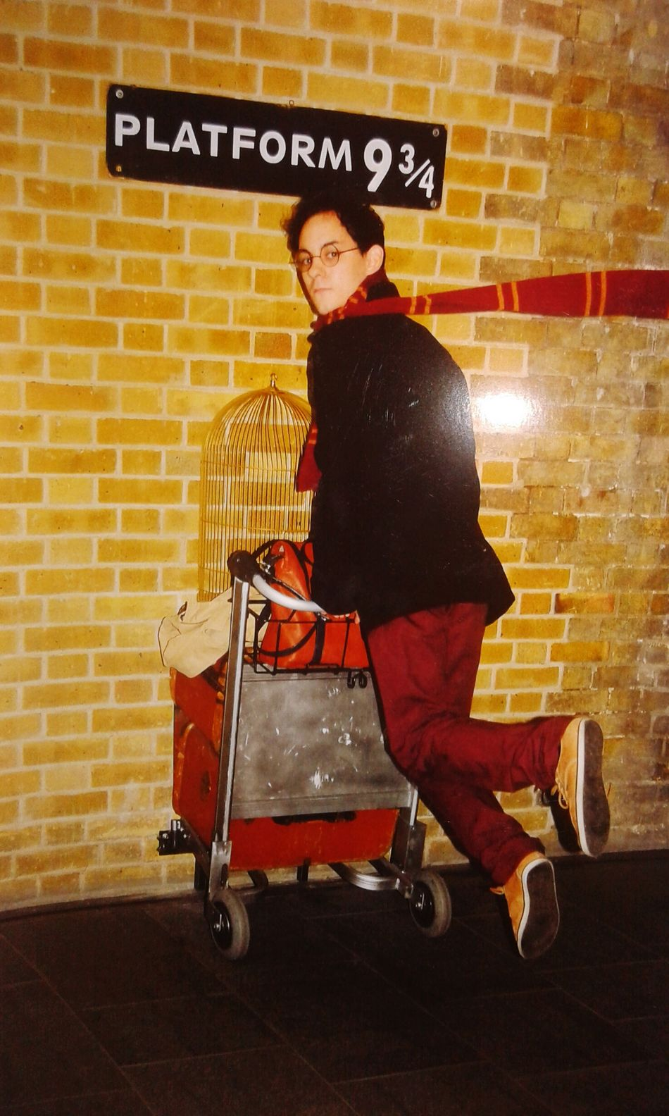 LONDON❤ Harrypotter Kingcross
