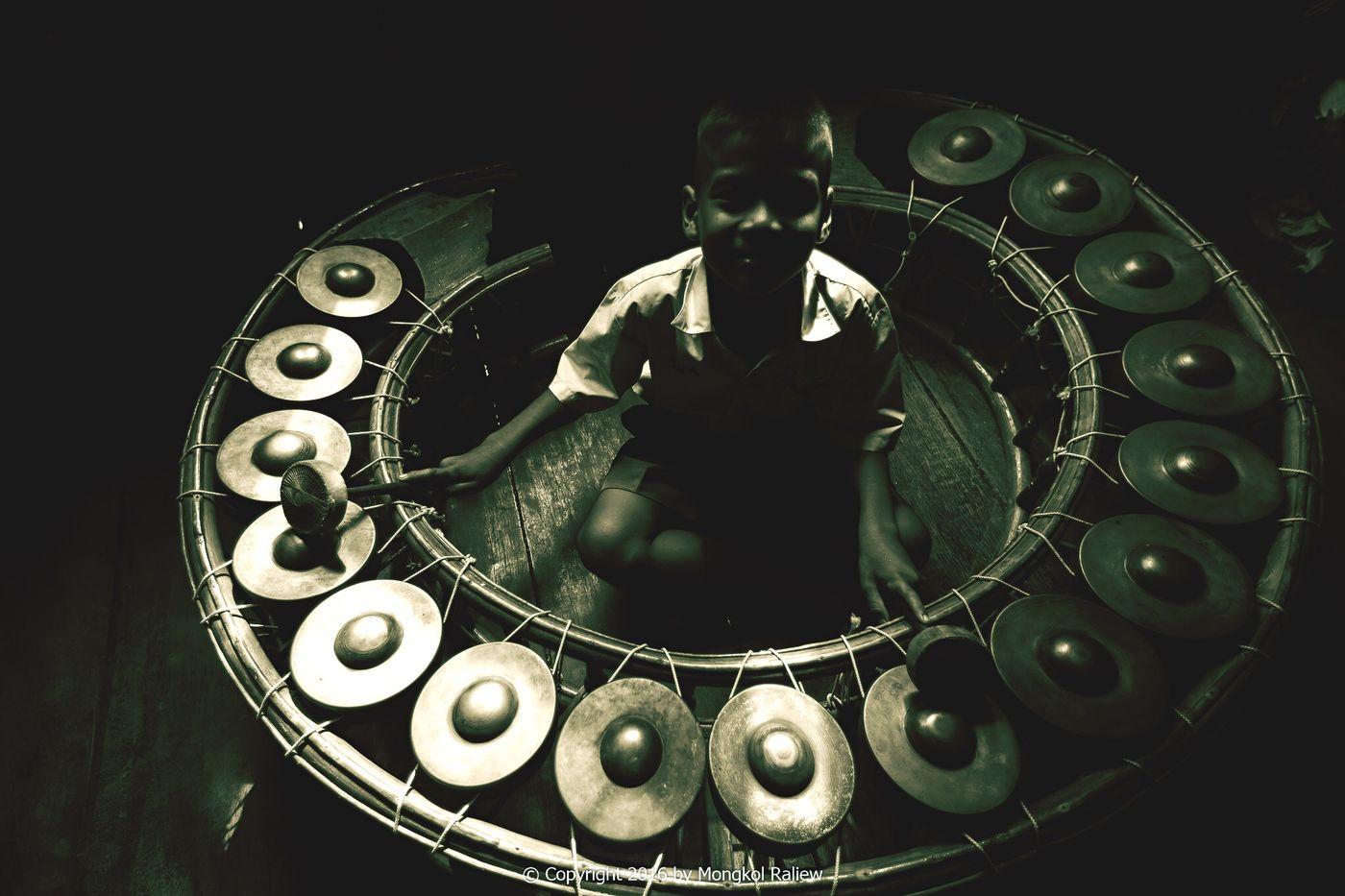 Black Background Boy Kid Kids Music Musician Instruments Thai Instruments Black Blackandwhite Black And White Black & White