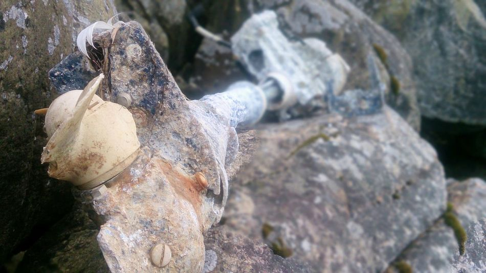 One of the coolest beach findings ever! Boat Motorboat Motor Ancient Beachfind