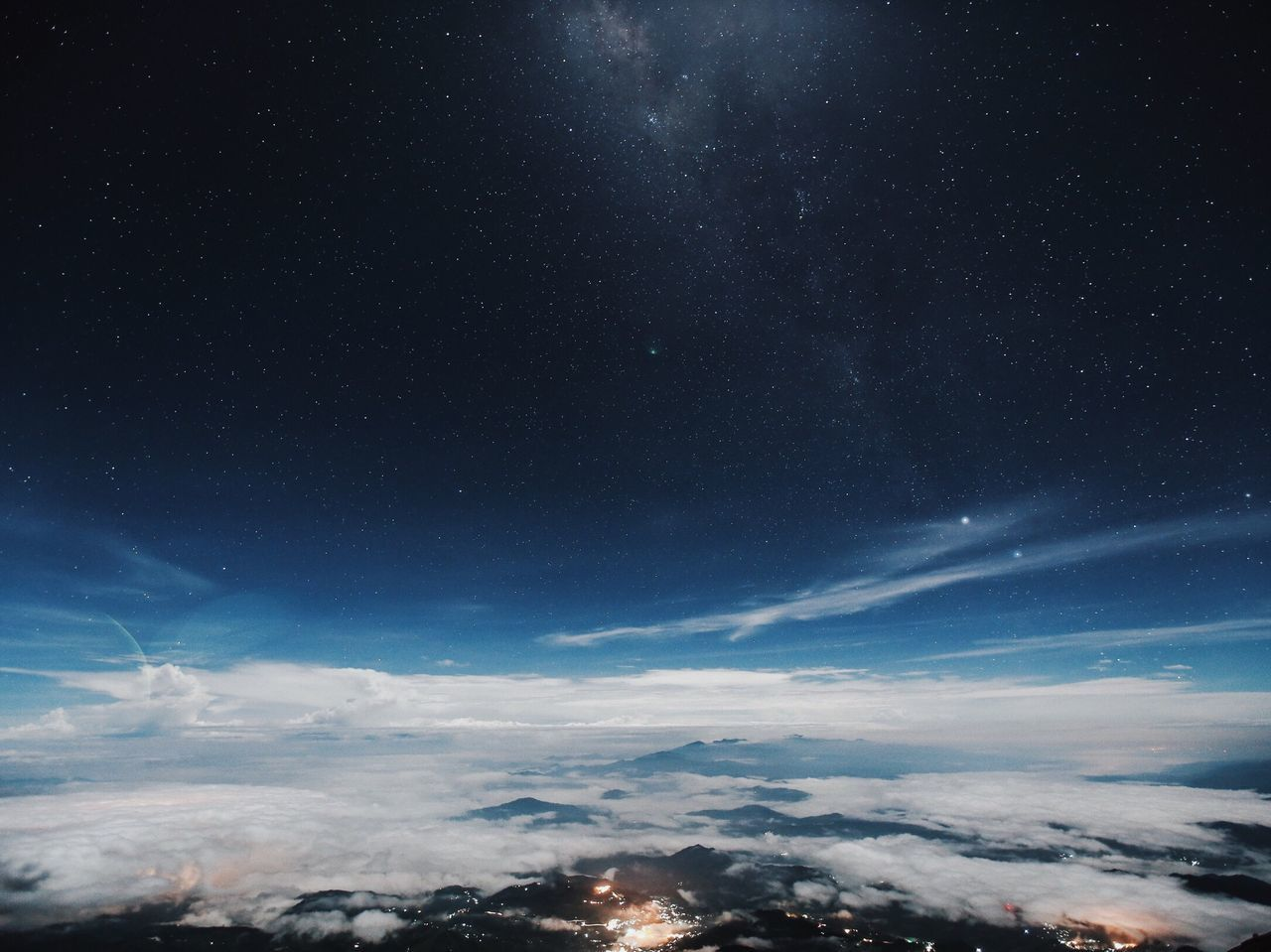 The Great Outdoors - 2017 EyeEm Awards Space view from Mt.Kinabalu.
