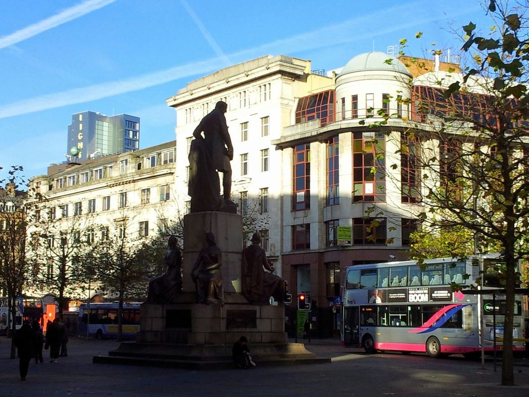 Standing In The Shadows Of Love Manchester Urbanphotography Urban Landscape Urbanscape Urban Piccadilly Gardens Statues