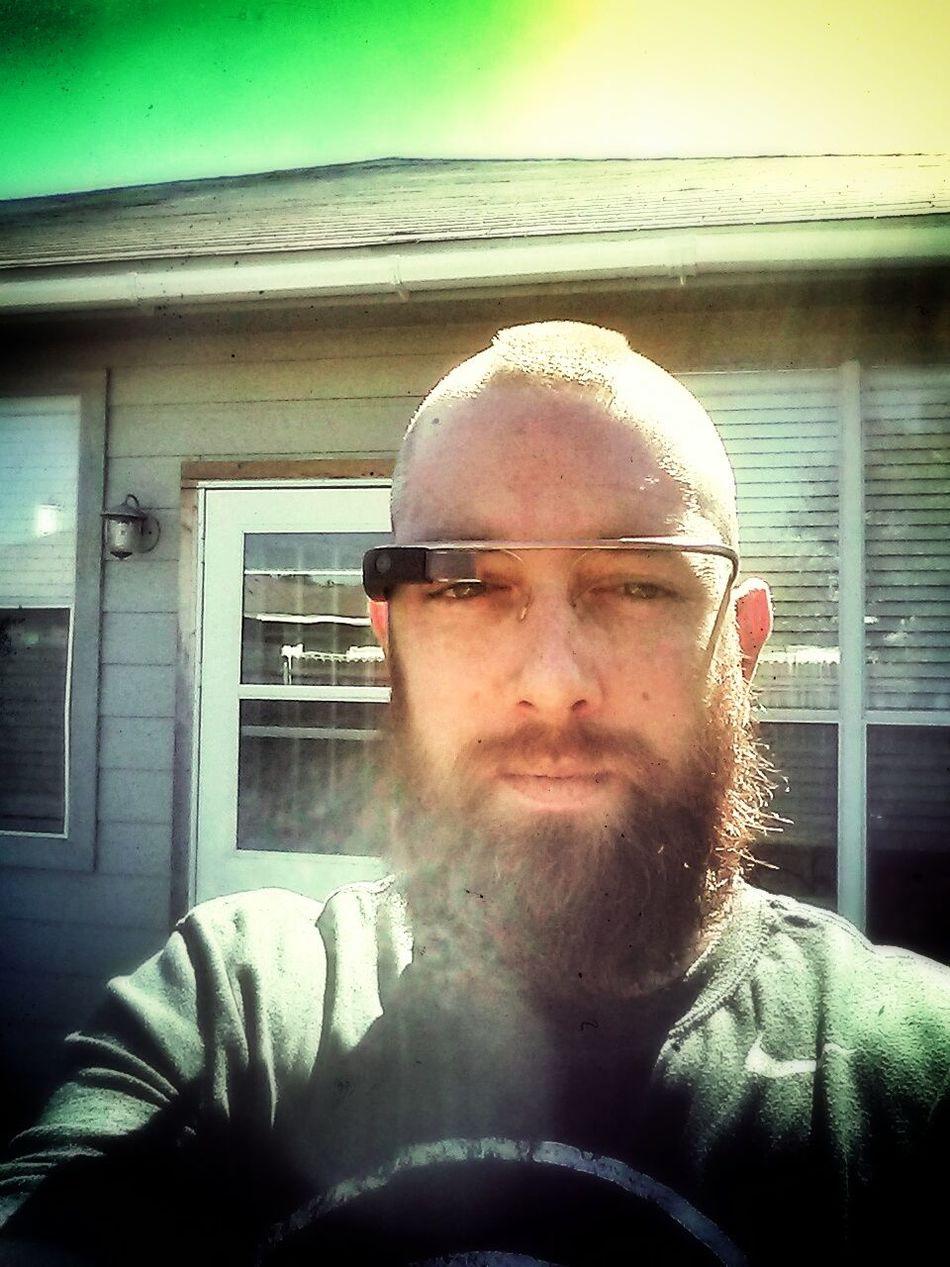found me a new pair of sunglasses today! GoogleGlass Glasshole