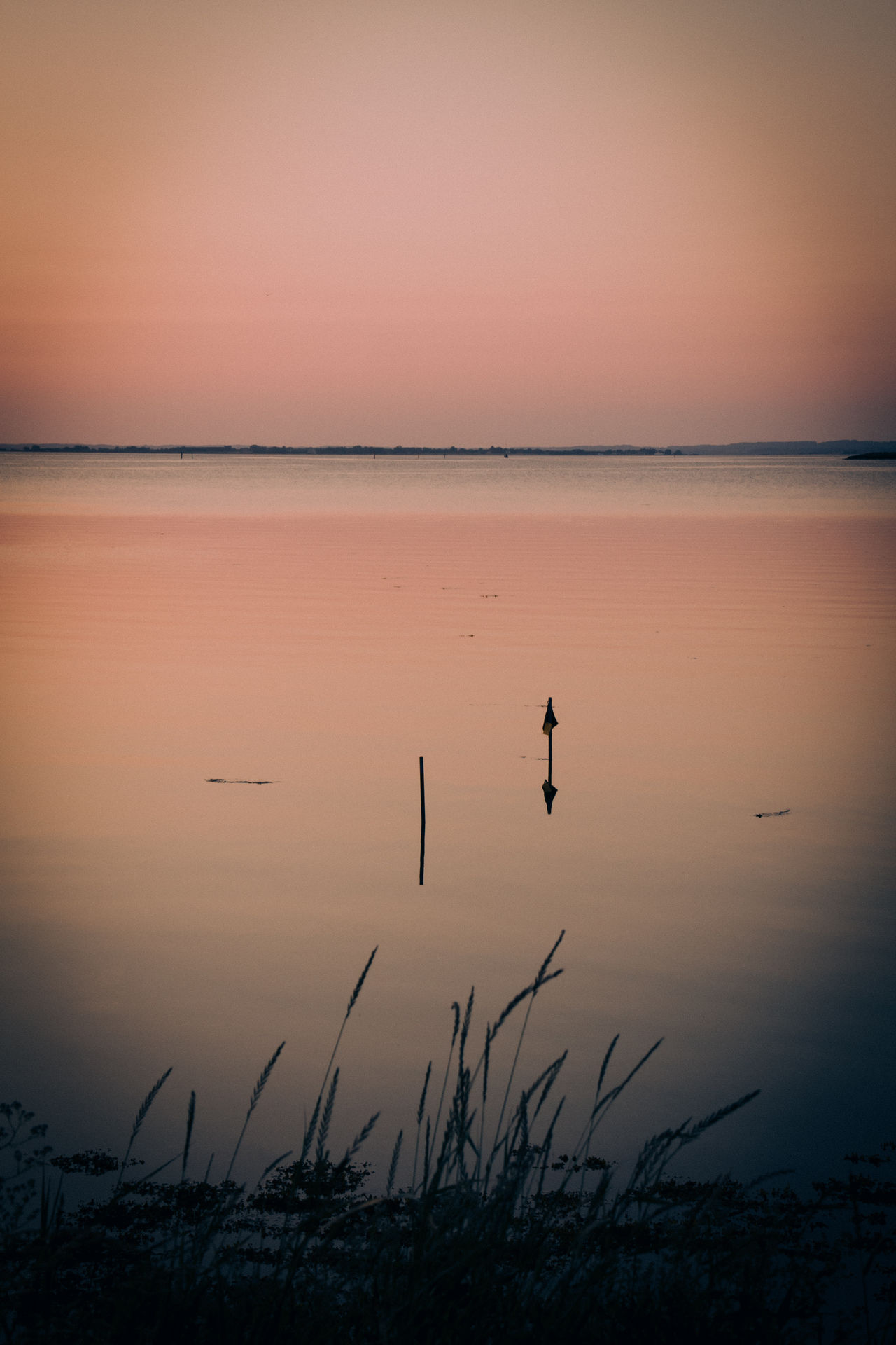 Beauty In Nature Horizon Over Water Nature No People Outdoors Reflection Scenics Sea Silhouette Sunset Sunset Silhouettes Tranquil Scene Tranquility Tranquility Travel Destinations Water