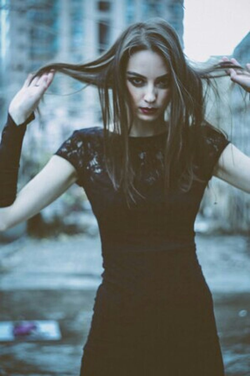 beauty, water, adults only, only women, wet, adult, beautiful people, one person, long hair, one woman only, young adult, females, beautiful woman, women, people, one young woman only, drop, fashion model, human body part, fashion, outdoors, young women, portrait, glamour, beauty in nature, day, evening gown, nature