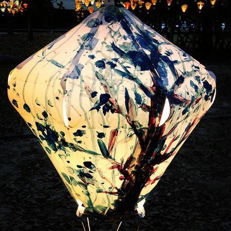 好像跑太遠了🏃🏃🏃 台東 鐵花村 燈籠 熱氣球 ✨