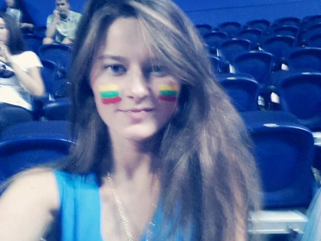 Watching Basketball Lithuania Basketball Team ♥♥♥♥ Proud Being Lithuanian! We Are Fourth In The World