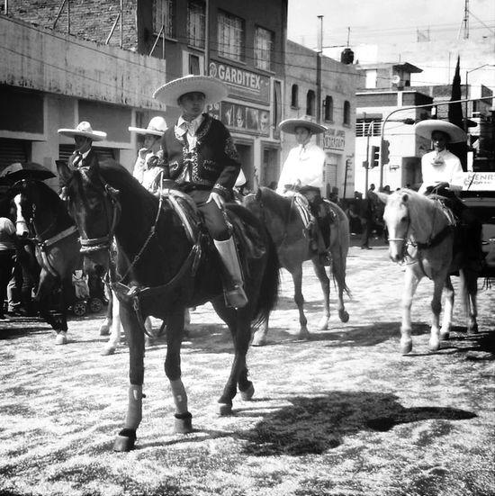 Charros 20denoviembre  Black&white
