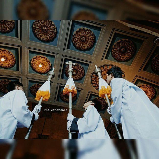 Knights of the Altar . . . Installation of Rev. Fr. Noel Cabungcal as parish priest of Lucban Quezon (home of Pahiyas festival) . . . Lucban Quezon Knights altar vscom vcom vscomanansala themanansala