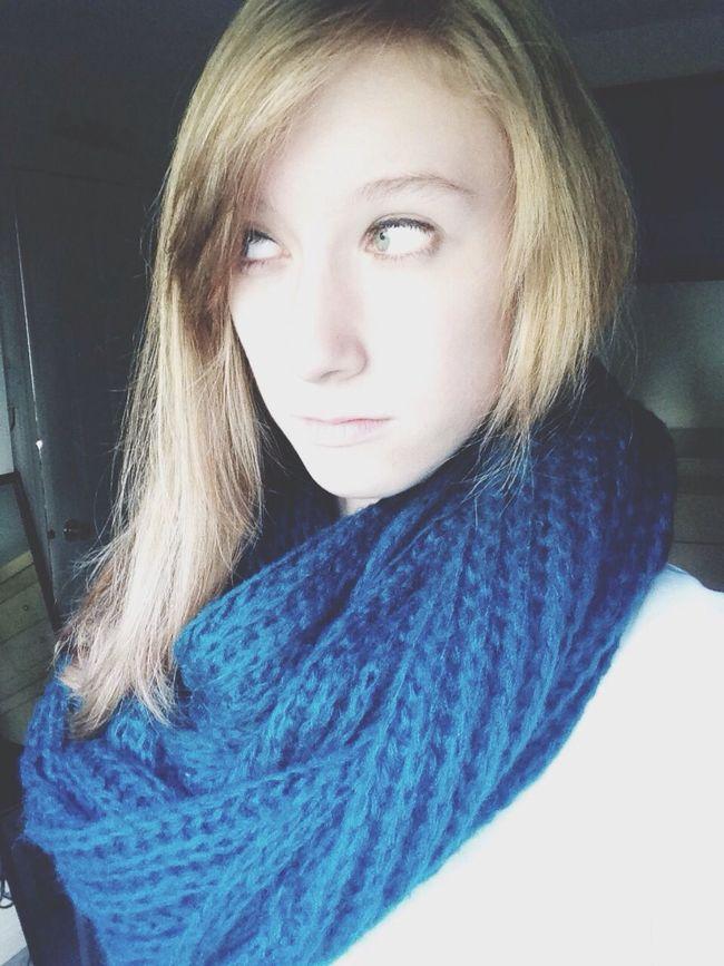 Serious Pretty Awkward Pose  Fall Season