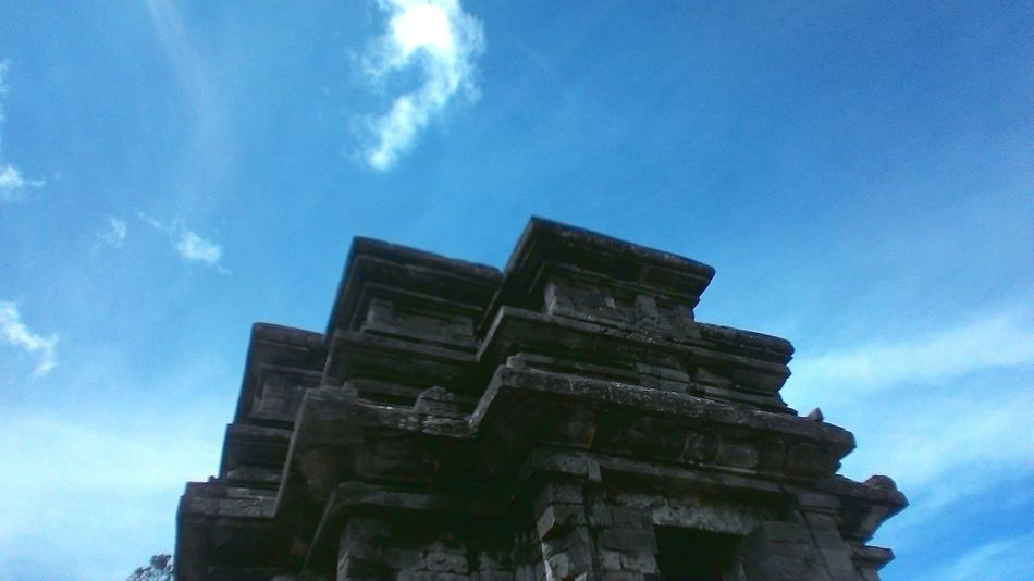 At Dieng Central Java , Temple Hystorical Buildings Old Temple Mobile Photography