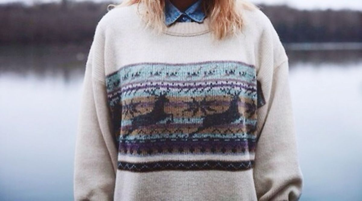 Depth Of Field Sweter Cold Love ♥ That's Me Portrait Of A Friend Relaxing