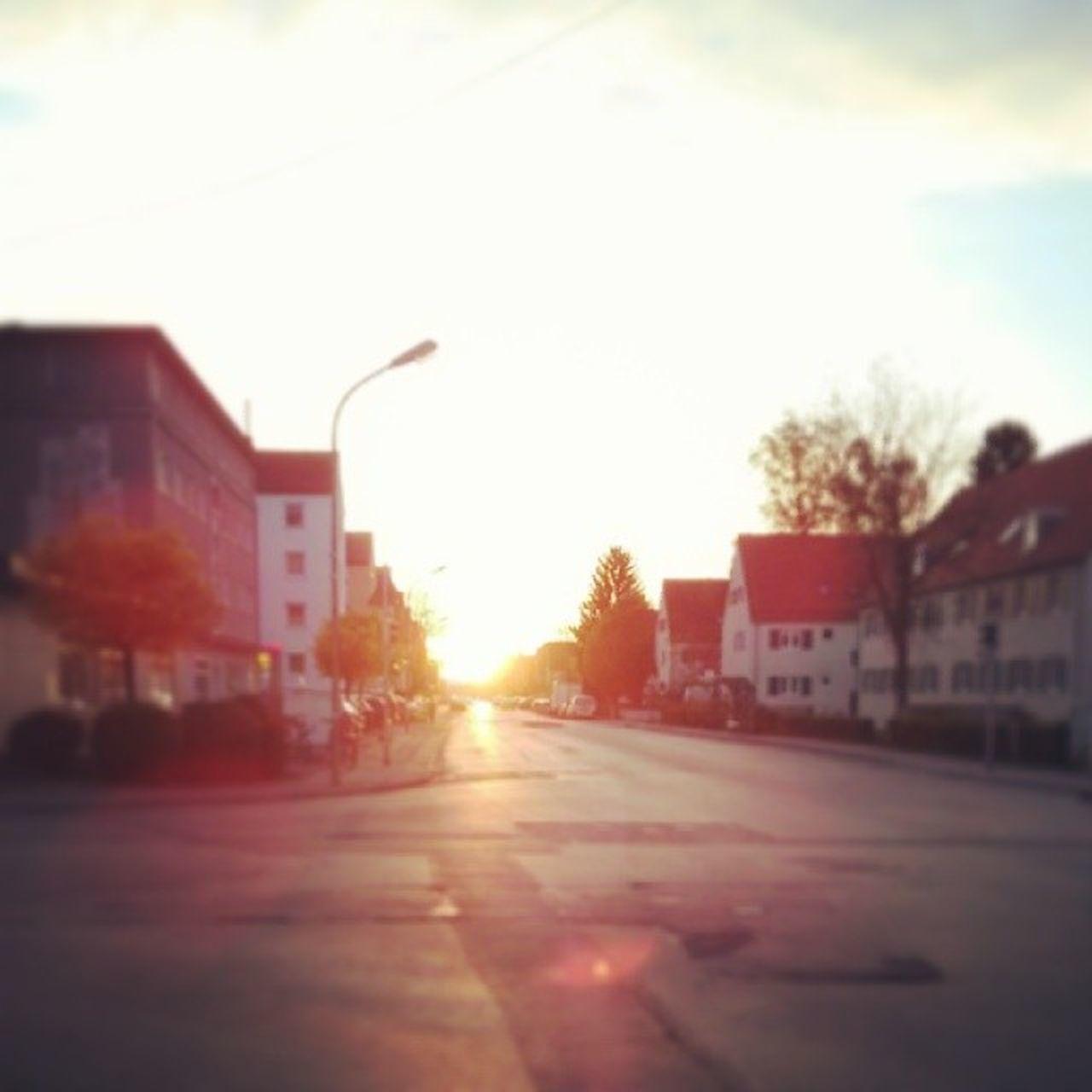 Augsburg Haunstetten Sundawn Evening