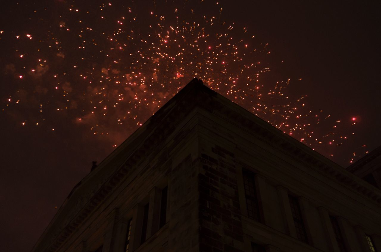 New Years Eve Fireworks NYE Berlin Gendarmenmarkt