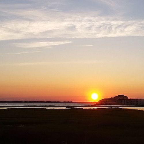 Tonight's sunset.. Oceancitycool OceanCity Maryland Ocmd ocmdphotography everythingoc earthpix sunraysig