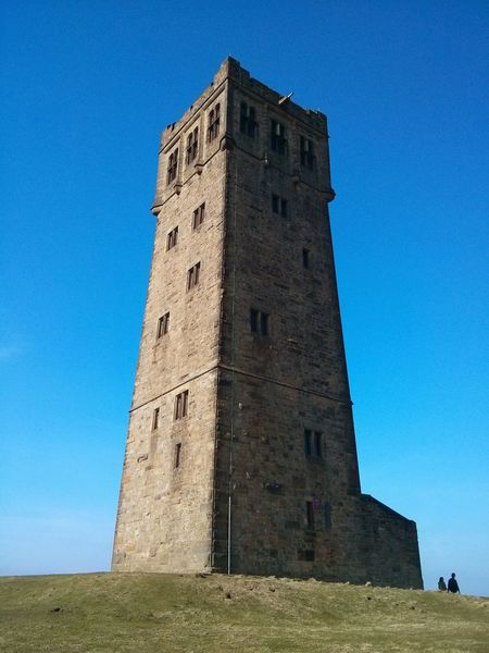 Architecture Built Structure Blue Clear Sky Low Angle View History Old Tower Tall Outdoors Famous Place Building Exterior
