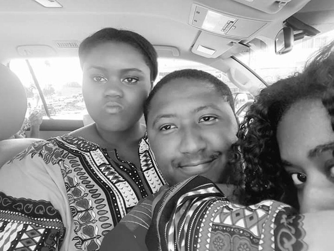 My sisters. African Beauty Africanclothes Selfie Looking At Camera Travel Togetherness Bonding Friendship HuaweiP8