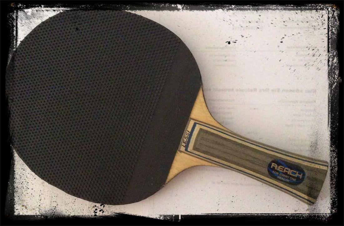 Tabletennis new Blade backside Tischtennis Markt Erlbach
