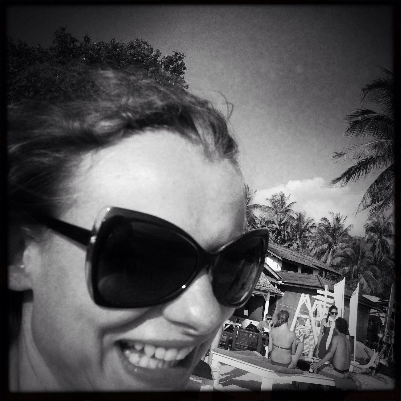 Black And White Being A Beach Bum Changing The World