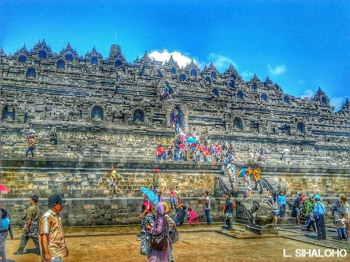 Borobudur Temple Borobudur Temple Ancient Architecture Ancient Central Java Magelang INDONESIA HDR Hdrphotography