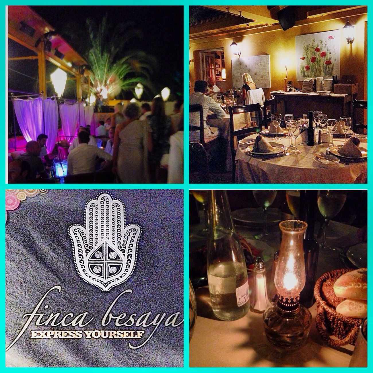 Cenita en la legendaria Finca Besaya, maravillosa cena y copas....