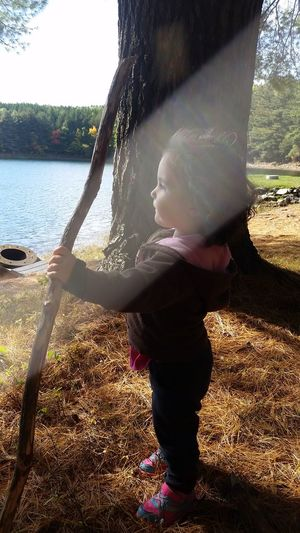 Water Sunlight Childhood Outdoors Daughter Portrait Family Home Is Where The Art Is Lake Pleasant, Massachusetts Bridge Of Names