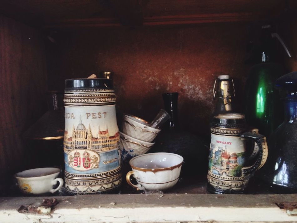 Variation Group Of Objects Bottle Still Life Shelf Choice Spice In A Row Kitchen Utensil Large Group Of Objects Sack Collection Dirt Beer Mug Budapest Messy Dirty Souvenir