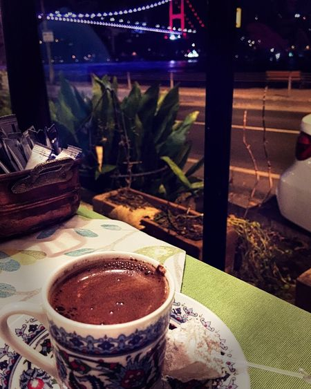 Cofee Time Food And Drink No People Bosphorus Bridge Bosphorus Istanbul Boğaz Sadekahve Funny Saturday Keyif SweetTime