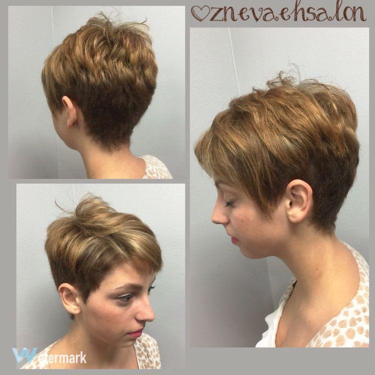 Adorable color & pixie cut @znevaehsalon @lorealprous Check This Out Haircut Hair Haircolor Eye4photography # Photooftheday L'Oreal Professionnel Z Nevaeh Salon Knoxvillesalon Color Specialist Pixiecut