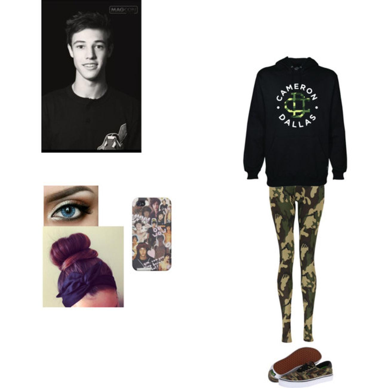 Quiero ese buzo y a Cameron My Polyvore ^.< Cameron Dallas❤ Beautiful ♥ Polyvore #fashion #mycreation #lovetostyle