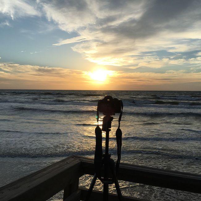 Waiting for the sunrise.... Beach House Oceanfront EyeEm Best Shots - Nature EyeEm Best Shots Connected With Nature Nature_collection EyeEm Nature Lover Vacation2016