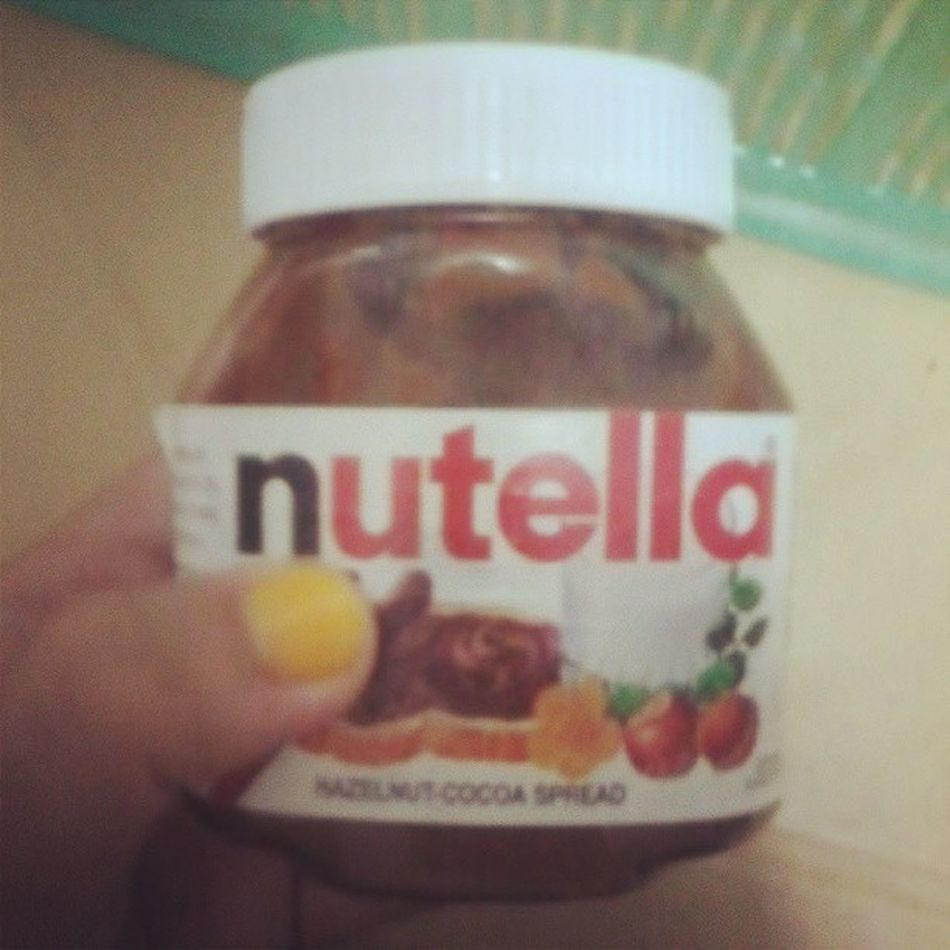 Sweets for the sweet. :) Nutella Love Sweet Nightsnack