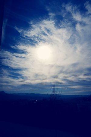 Skyblue Sun Cloud