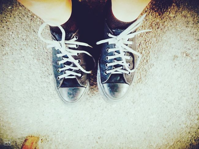 Shoes Shoefie Rubbershoes Runningshoes Black Vintage Travel