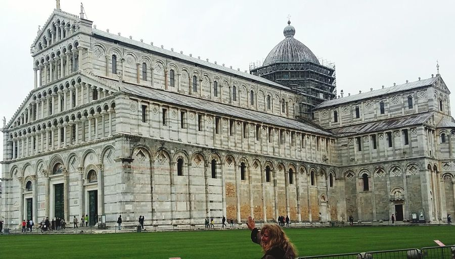 Pisa Cathedral Built Structure Travel Destinations Building Exterior History Outdoors Day