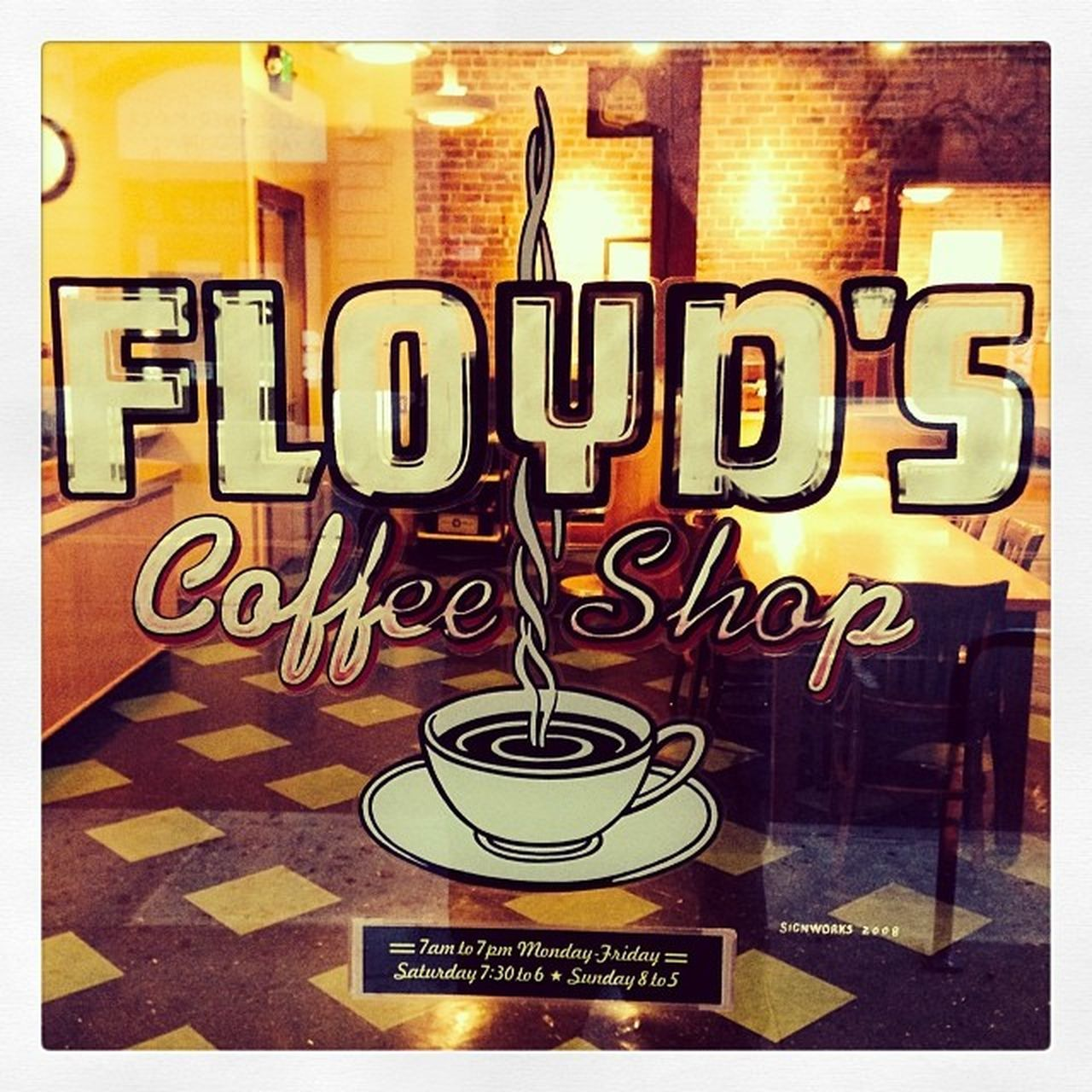 It's 8am! Where you at Floyd?!? Pdx Pdxlove Portlandia PortlandOregon PNW Floyd 's Coffee Stumptown Gottahaveit