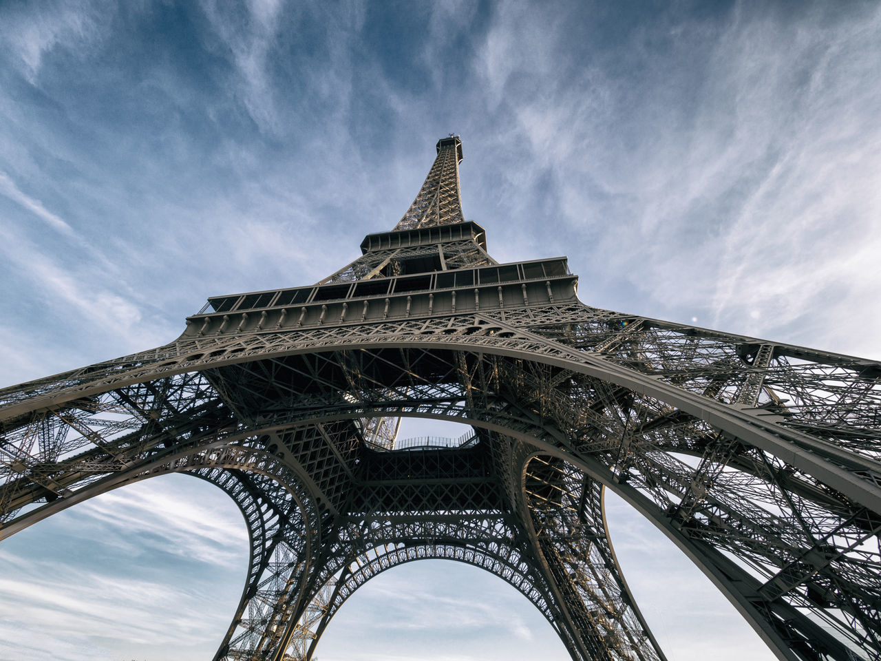 Beautiful stock photos of eiffel tower, Architecture, Built Structure, Capital Cities, Cloud - Sky