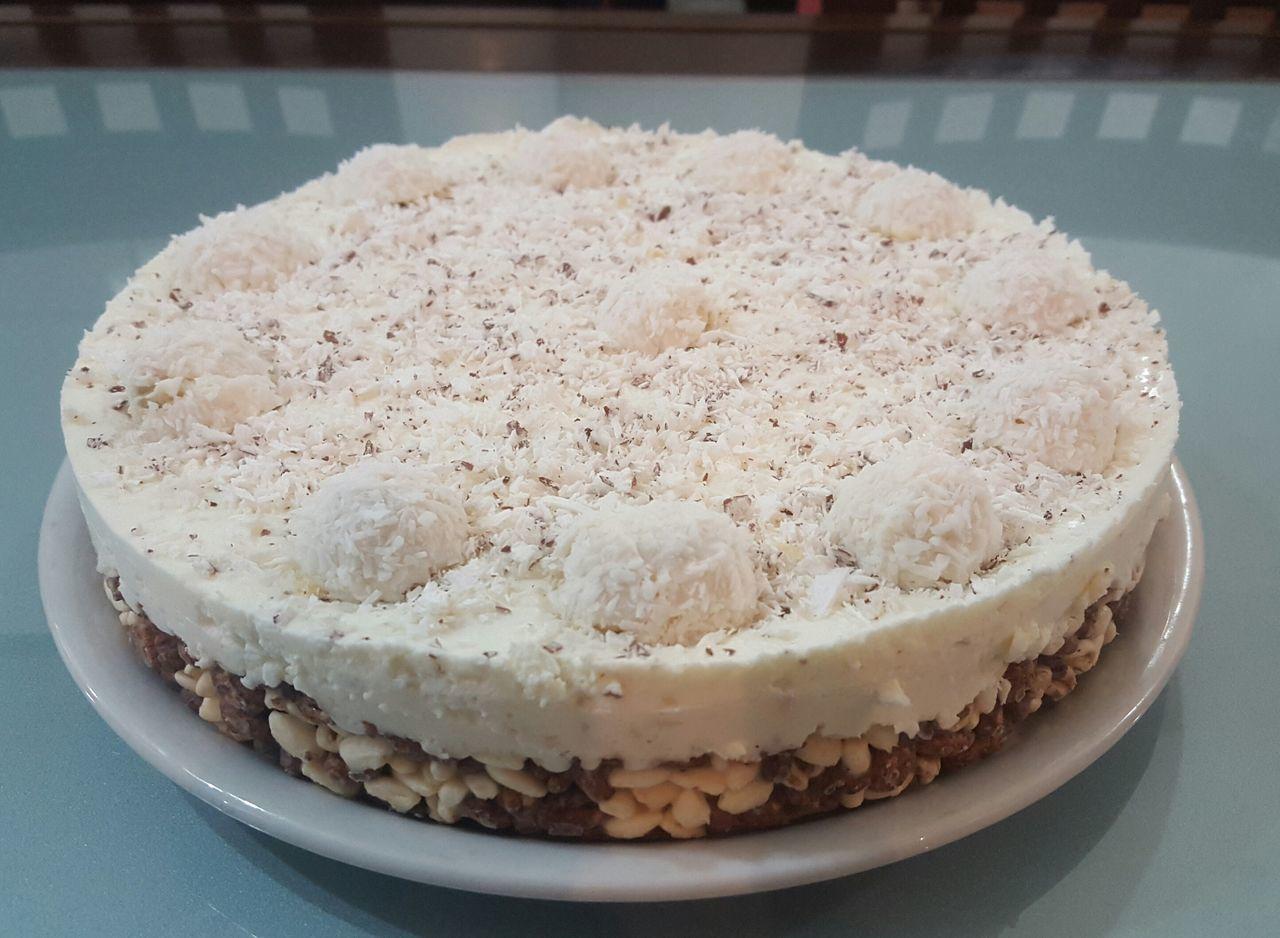 Cook  Cuoca Cheese Cake Raffaello Troppobella Troppobuona