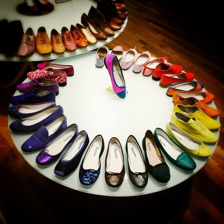 Repetto Shoes Rainbow Coex Seoul Iphone6plus