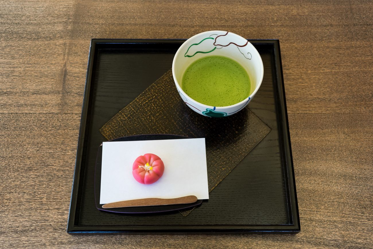 Green Tea Cultures Bowl Tea Ceremony Close-up Healthy Eating Tea - Hot Drink Freshness No People Day Japanese Food 和菓子 梅 抹茶 Maccha Japanese Style Sweet Sweet Food Matcha