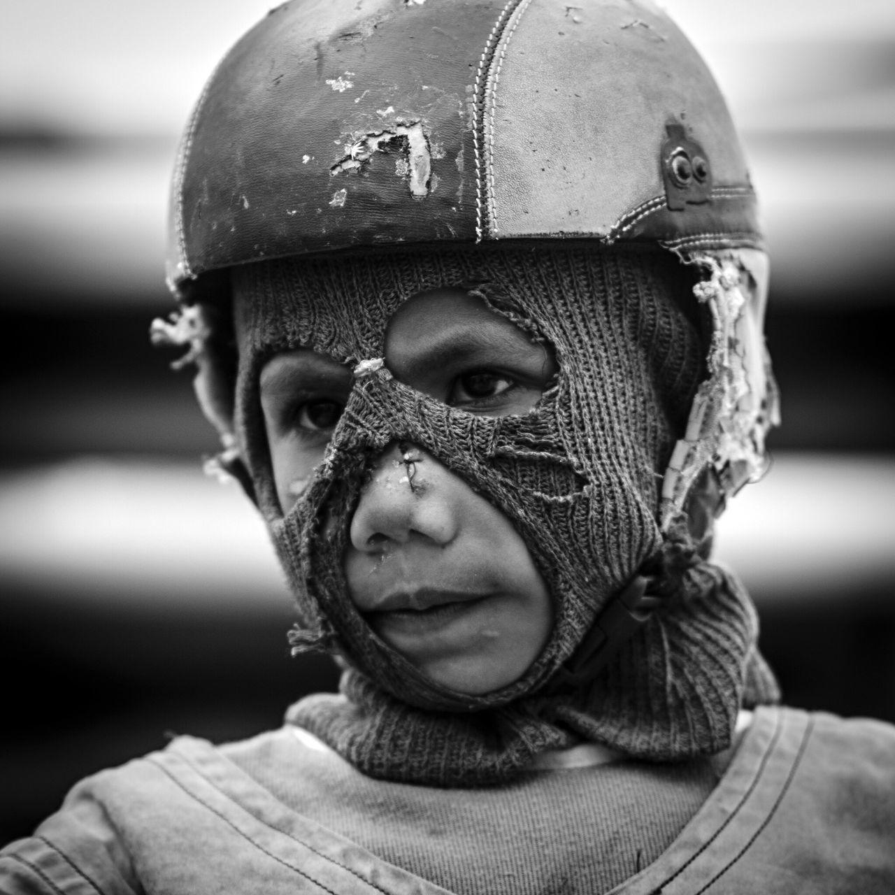 Little Rider Portrait Sumbawaisland Indonesia Culture Wonderful Indonesia