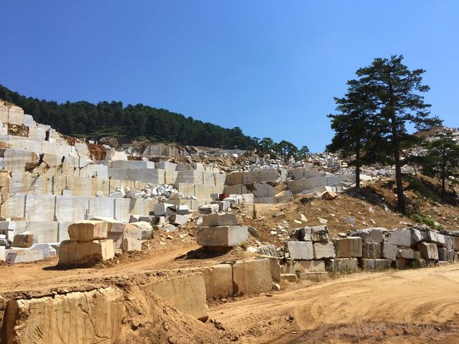 Greece Thassos Marble Quarry Traveling Stone Iphone6
