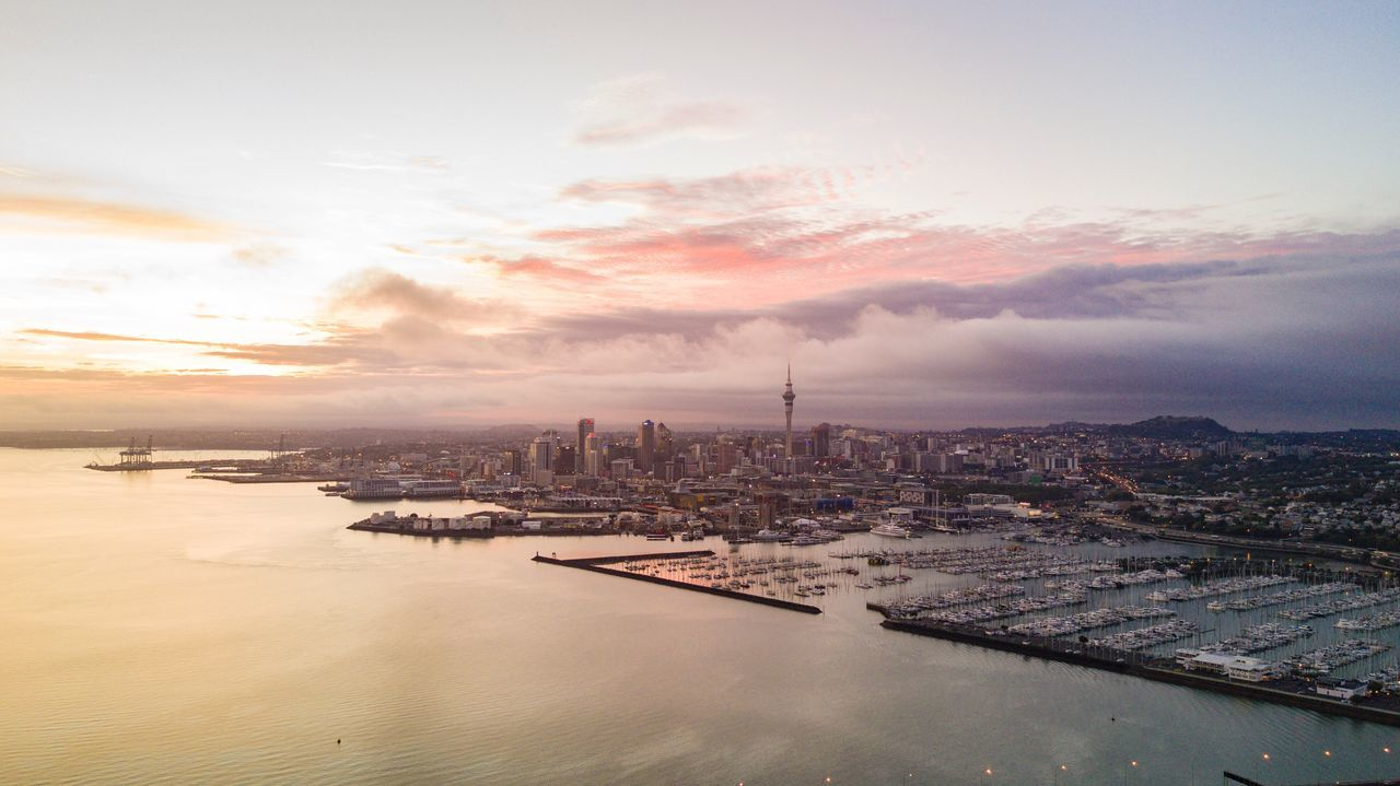 Beautiful stock photos of sunrise,  Architecture,  Auckland,  Beauty In Nature,  Building Exterior