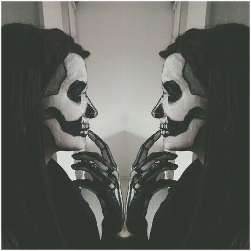 edit. Skullmakeup Sugar Skull Skeleton Makeup