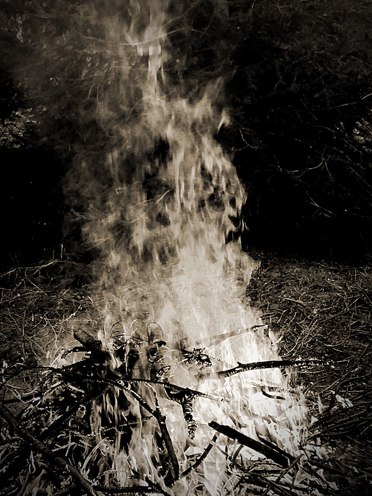 Fire Check This Out Black And White Darkness And Light