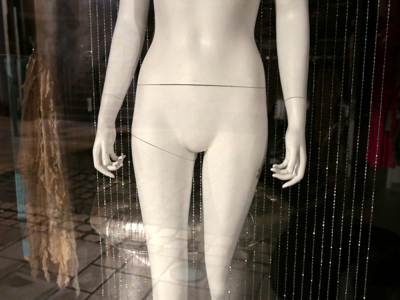 Shop Window Mannequin Undressed
