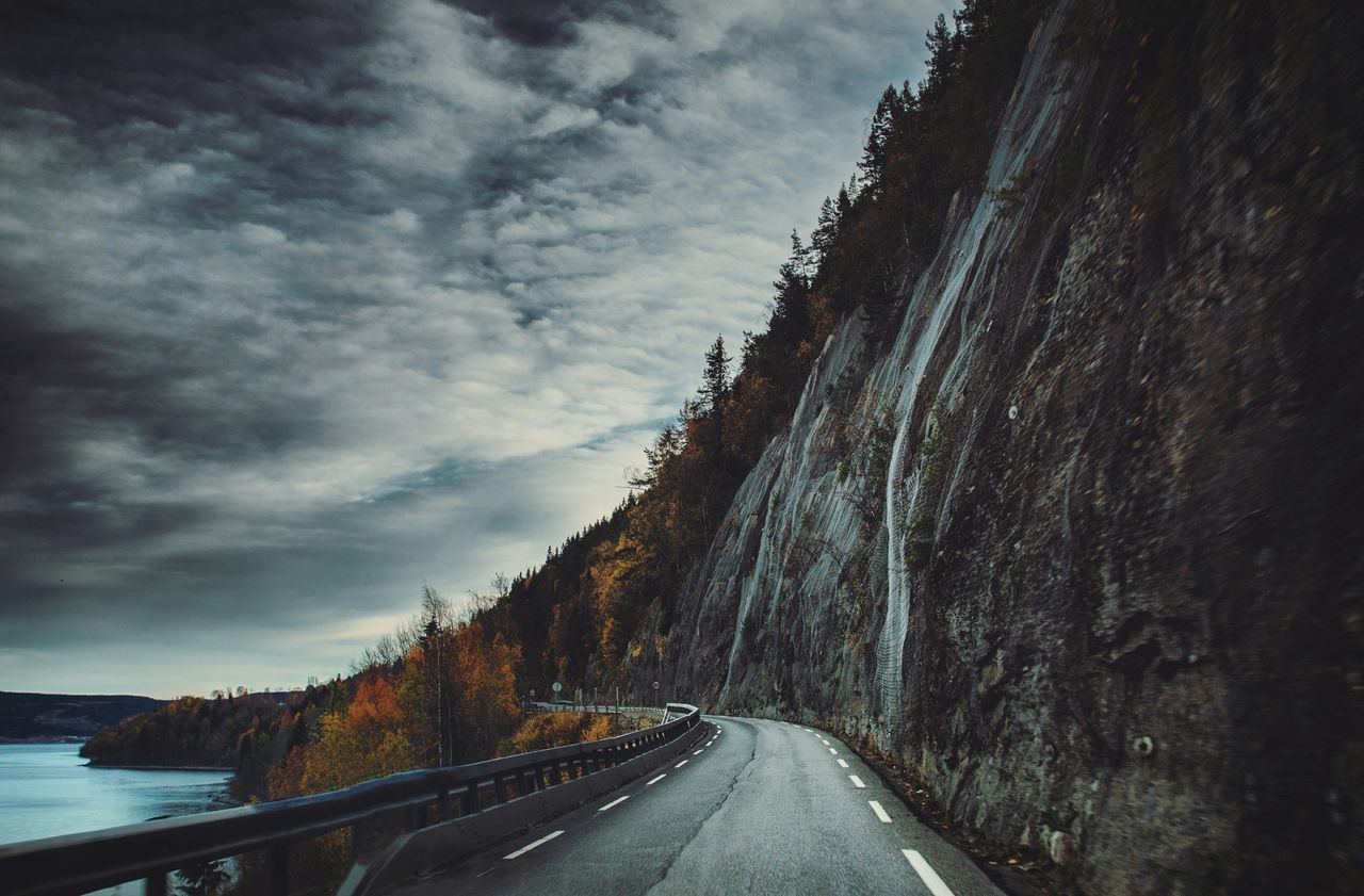 Beautiful stock photos of norway, Asphalt, Beauty In Nature, Cloud - Sky, Dusk